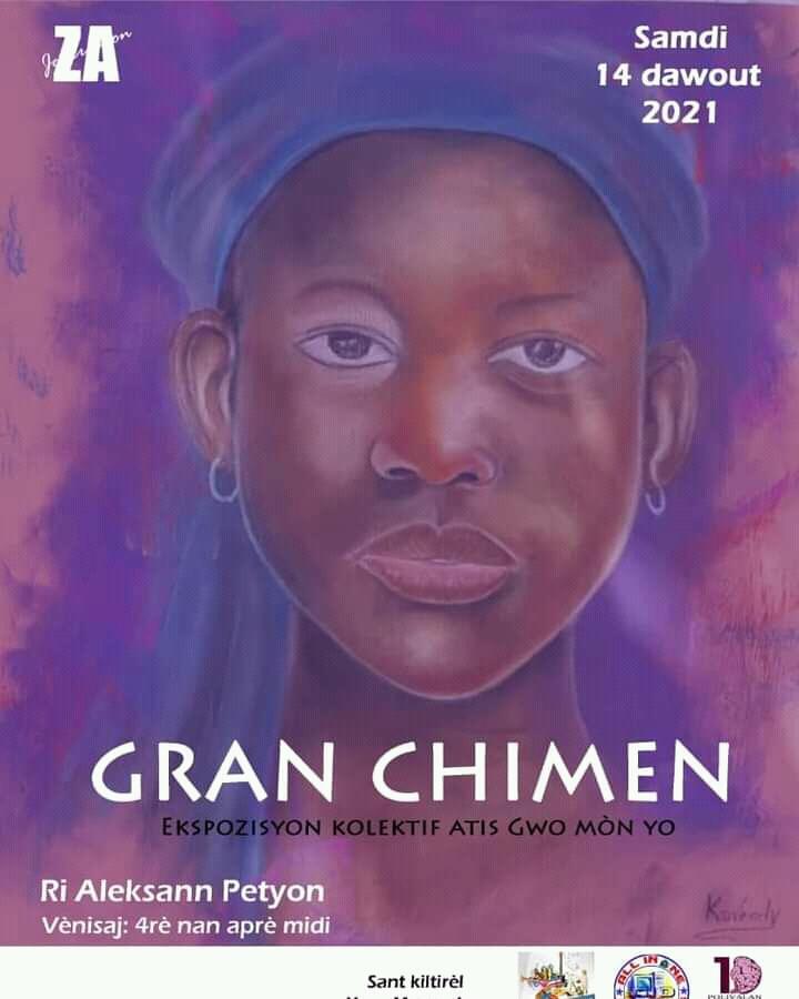 Gran chimen : Une exposition de tableaux dans les rues pour rapprocher l'art de la population Gros-Mornaise